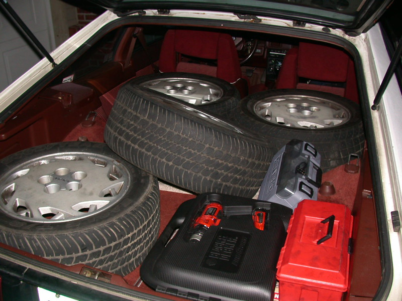 i'm constantly amazed by how much you can fit in the back of supras