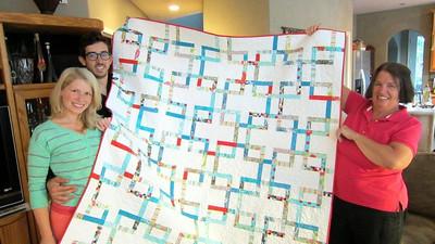 Arlew wedding - Sally's quilt