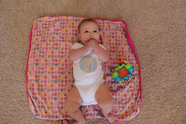 Dannie 7 Months Old