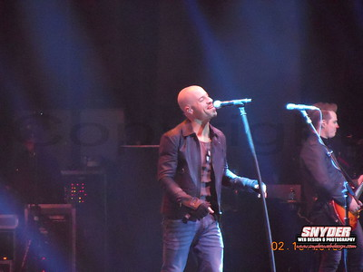 2013 Daughtry - Sands Casino Bethlehem, PA 2/10/13