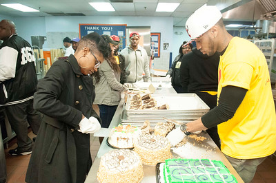 CIAA 2015 Bowie St Community Servce @ The Men's Shelter 2-27-15 by Jon Strayhorn