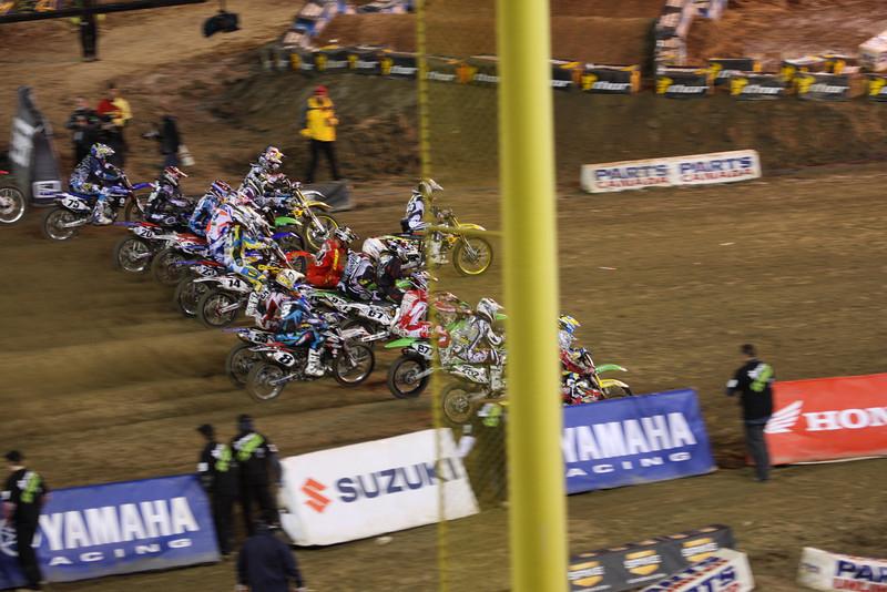 January 23, 2010 Anaheim Supercross