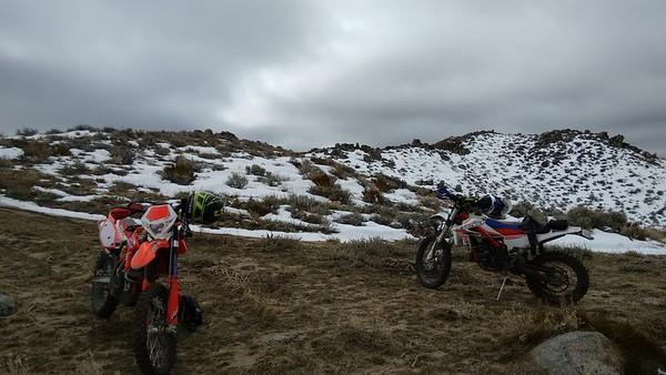 Moonrocks Dogskin Valentine trail ride 160214