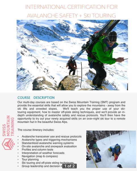 winter - winter courses gallery