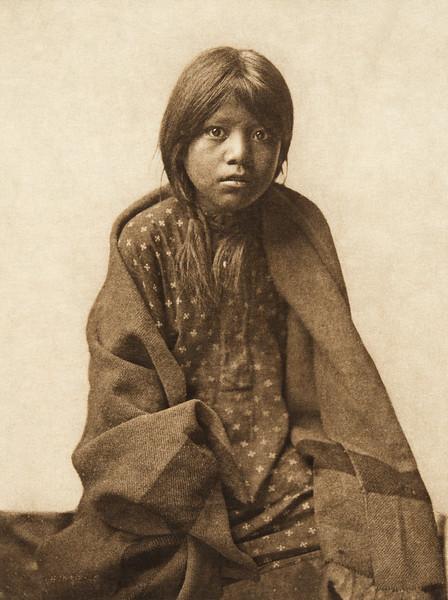 A Taos girl (The North American Indian, v. XVI. Norwood, MA, The Plimpton Press,  1926)
