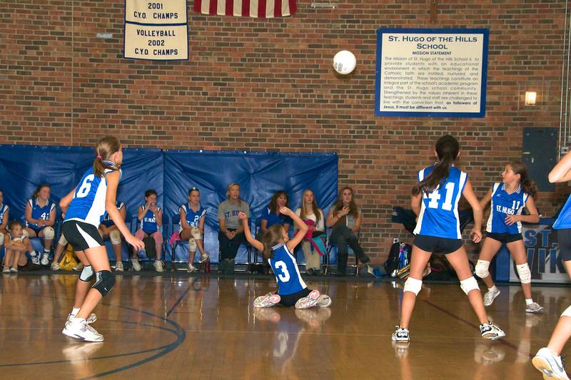 Hugo 5th Grade Volleyball  2010-10-02  1.jpg
