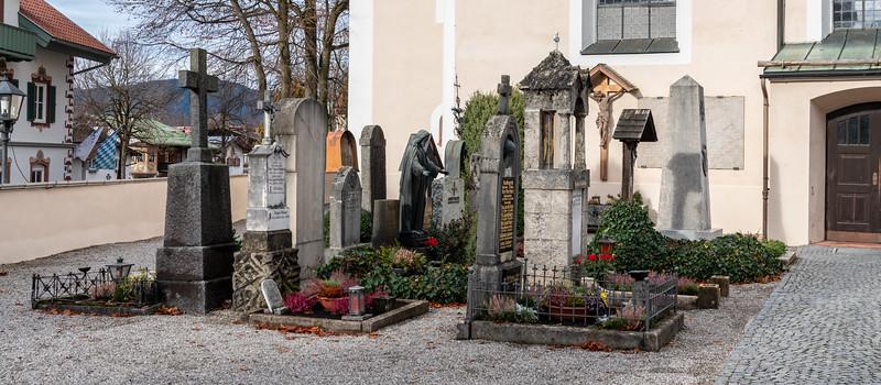 Churchyard graves