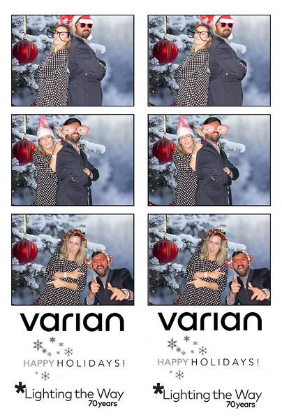 Varian Holiday  Party
