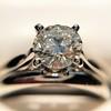 0.78ct Round Brilliant Diamond Bridal Set by Cartier 18