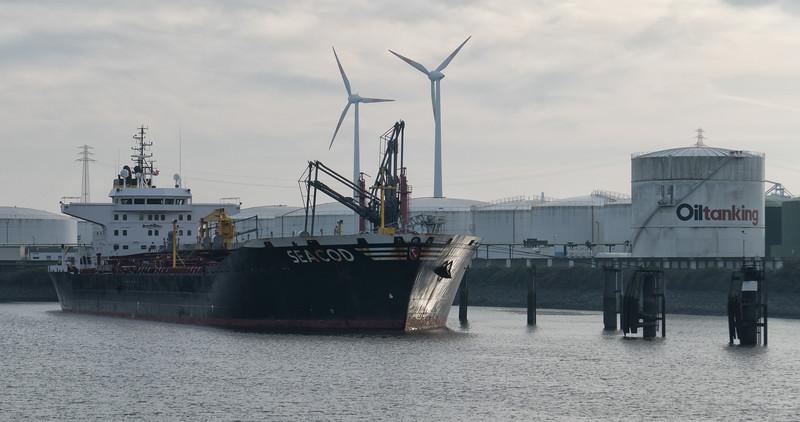 Ölhafen im Hamburger Hafen