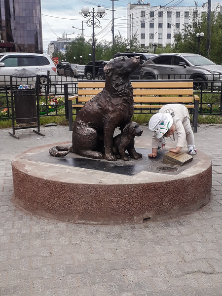 Monument to a Homeless Dog