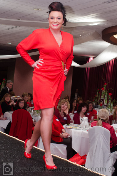 2012 Wear Red Event, Sponsored by Lake Health and Lakeland Community College