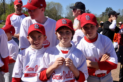 Rincon Valley Little League Folders