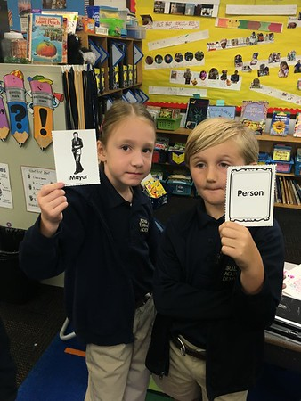 A noun is a person, place or thing Kagan Game!