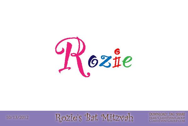 2012-10-13 Rozie's Bat Mitzvah