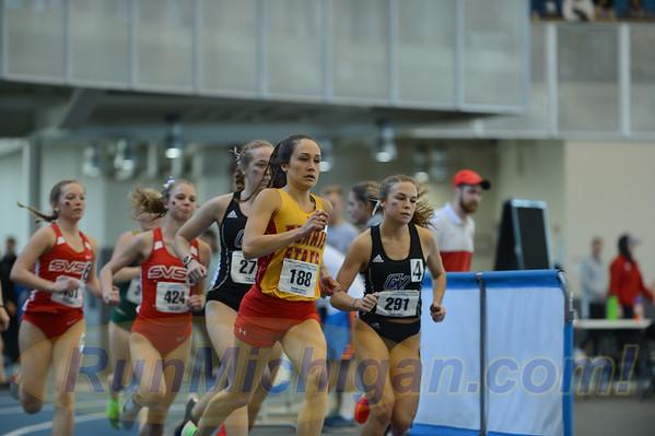 Women's 3000 - 2020 GLIAC Indoor T&F