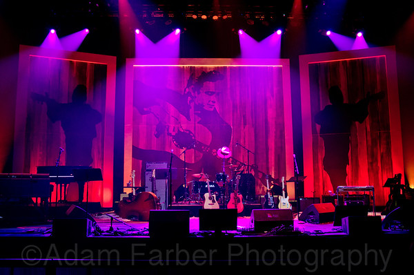 Johnny Cash Tribute - Moody Theater, Austin, TX, 2012  - Part I