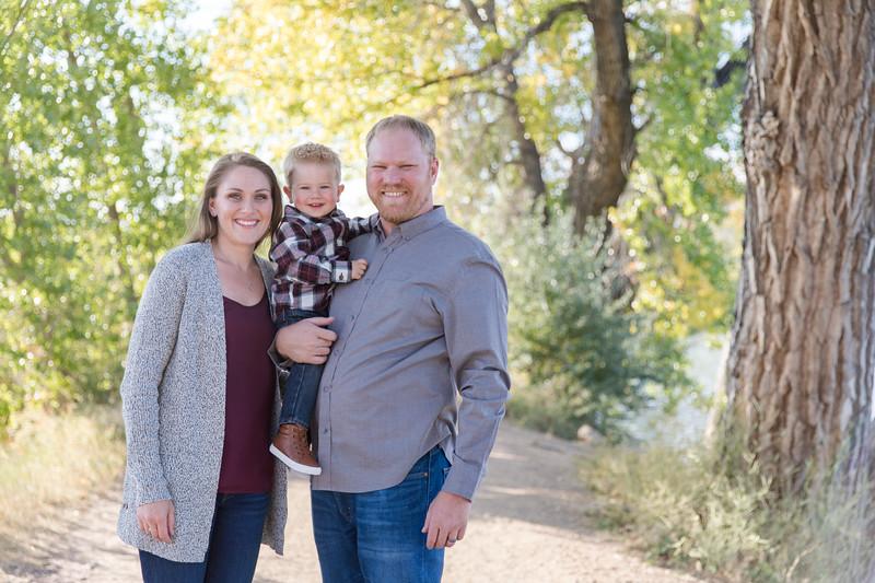 Leitner Family at McKay Lake