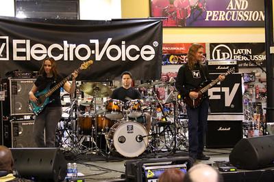 Travis Larson Band - Sam Ash - 03/2010