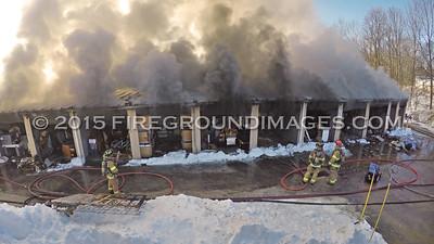 A-1 Storage 2nd Alarm (Waterbury, CT) 2/18/15