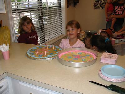Keely's 8th birthday 2006