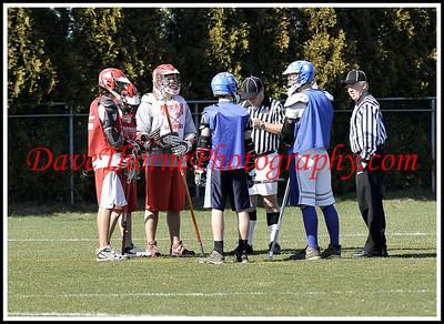 Lacrosse - Ocean JV vs Shore Regional,  Scrimmage April, 2010