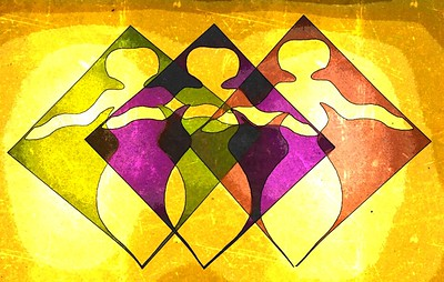 We Three in Solidarity by Cathy Weaver-Taylor