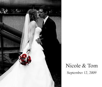 Nicole & Tom- Wedding Book