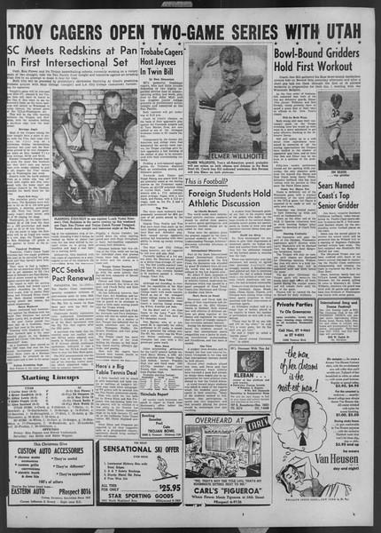 Daily Trojan, Vol. 44, No. 62, December 12, 1952