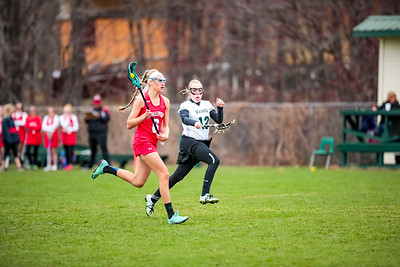2017-04-25 Oxford Hills Vikings vs. Messalonskee Girls Lacrosse