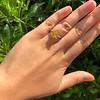 3.00ct Yellow Orange Sapphire Solitaire 53
