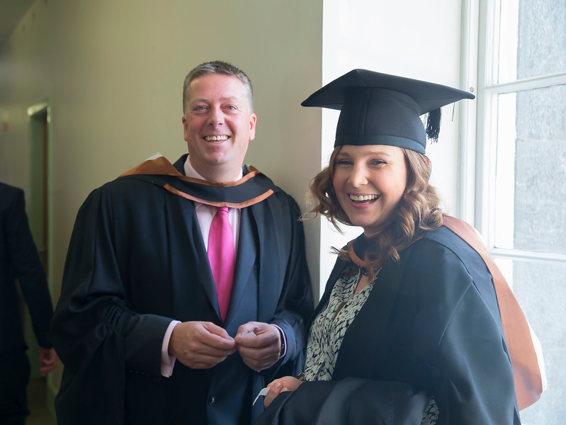 29/10/2015. Waterford Institute of Technology Conferring. Pictured are Paul O'Riordain, Dungarvan and Sandra Sadovskaja from Clonmel who Graduated Bachelor of Business (Hons). Picture: Patrick Browne