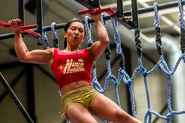 Natalie Duran Rockford Ninja Warrior Pro Competition