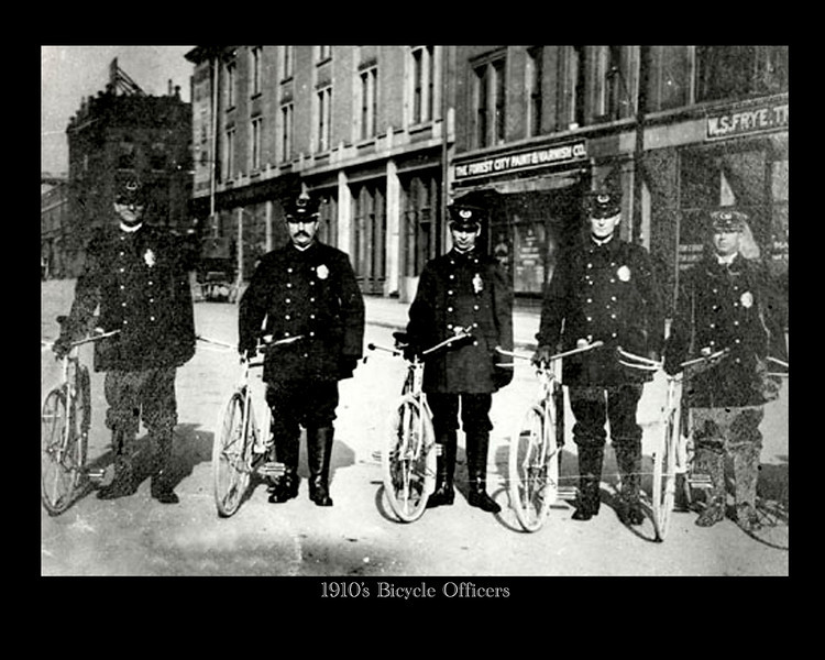 1910's Bicycle Officers copy