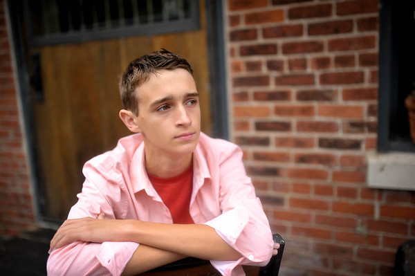 Izayah should be a model!  He truly nailed it.