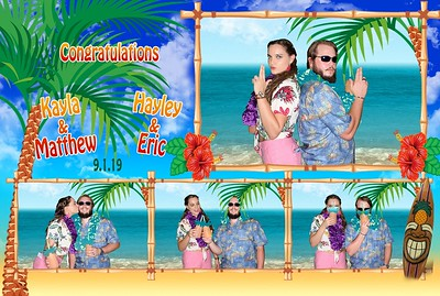 9-1-2019 | Luau Couple's Shower