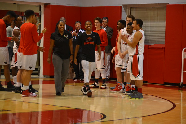 Boys Basketball Senior Night (1/25/17)