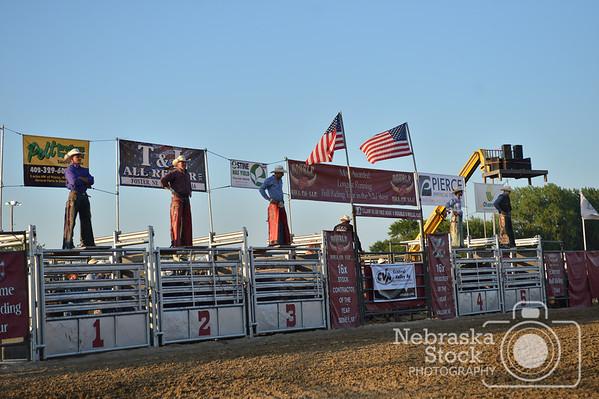 2017 Pierce County Fair Bull Riding