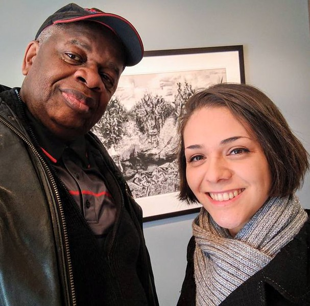 Gregory Burrus with Editor of Jersey Indie