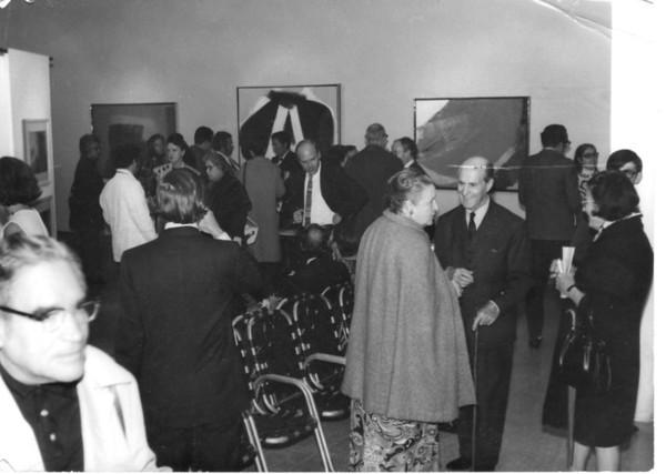 Exhibition-Guadalajara -Instituto Cultural Mexicano Norteamericano de Jalisco,Mexico (Paul Fontaine and George Blais) , November 1972