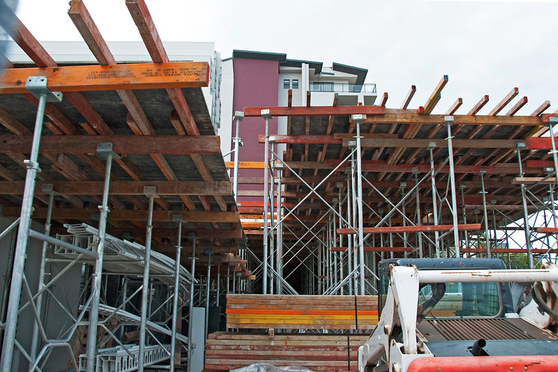 Construction Progress Units Beane St. #26 of - An ongoing photographic building record.