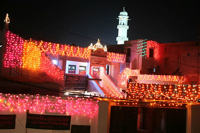 Qadian by Night