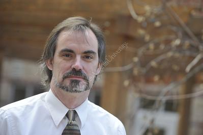 28065 WVU Professor Kevin Gooding Portrait January 2012