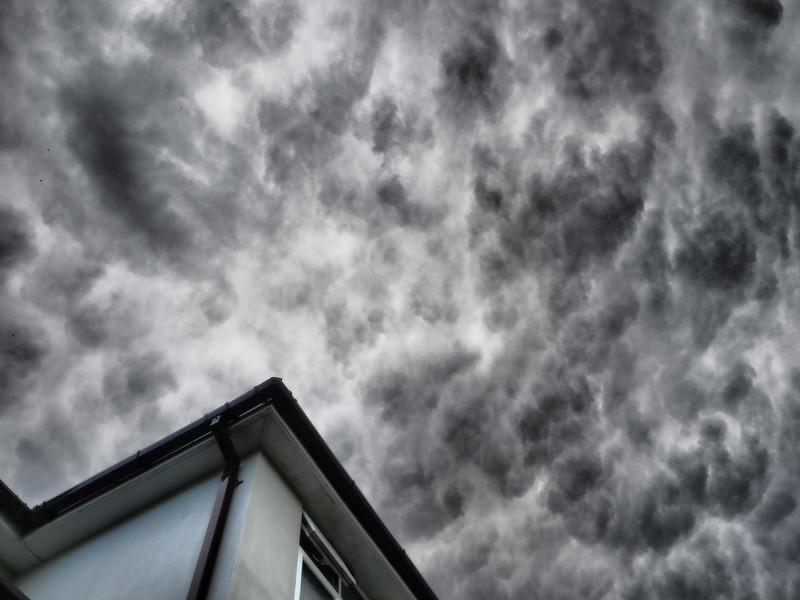 Stormy Lockdown skies