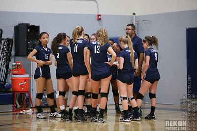 FP Girls Volleyball 10/08/15