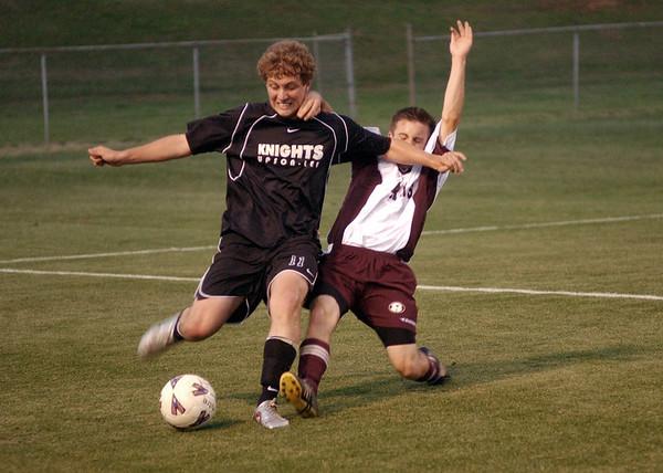 April 12, 2005 - UL Soccer vs Warner Robins
