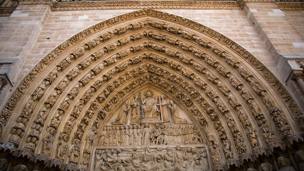 Europe 2007 - Favorite Notre Dame Scenes