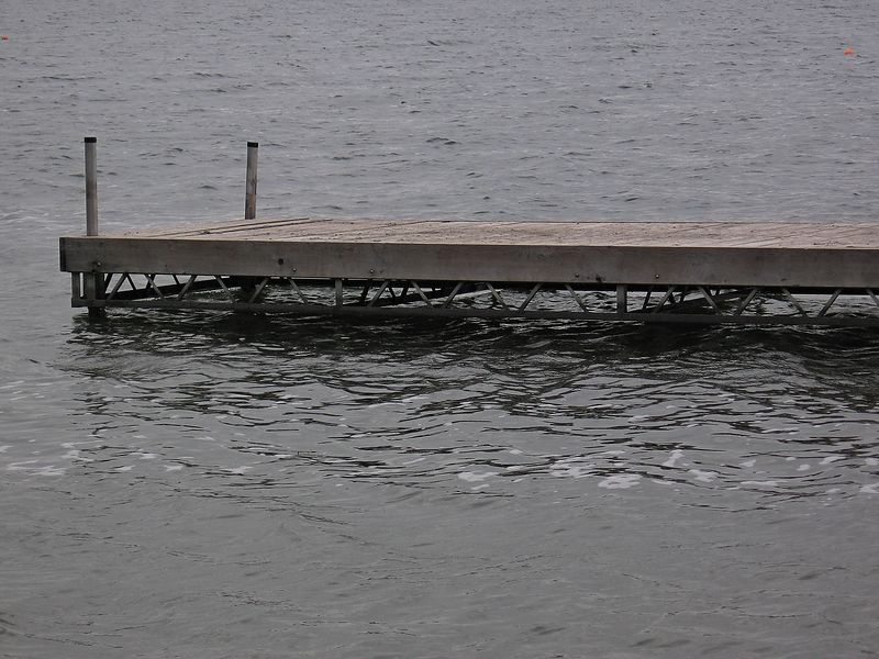 Diving platform, Chemong Lake