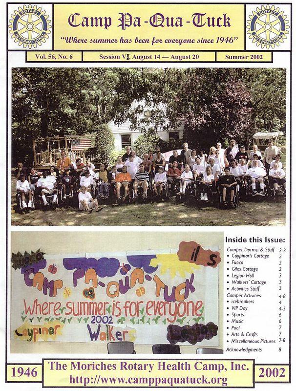 2002 Session VI Newsletter