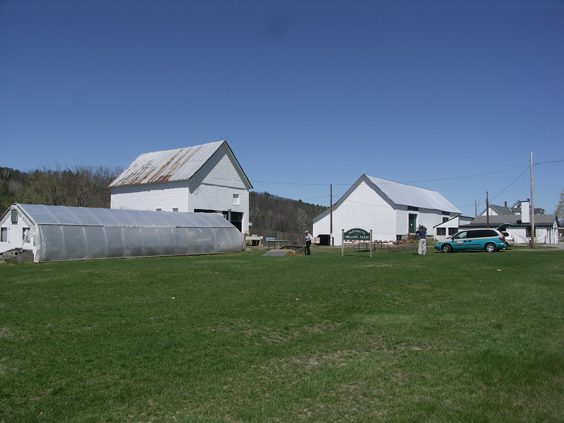 The Dartmouth Organic Farm for a tour before the 10th anniversary celebration.